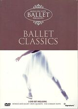 MOSCOW CITY BALLET PRESENTS BALLET CLASSICS - 3 DVD SET - ROMEO & JULIET & MORE
