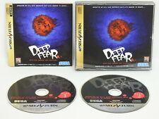 Deep Fear SEGA Saturne Ccc Ss