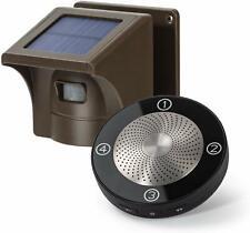 1/2 Mile Long Range Solar Wireless Driveway Alarm Outdoor Weather Resistant