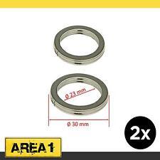 2x Auspuffdichtung Auspuff Krümmer Dichtung Peugeot 4T Roller (30x23x4)