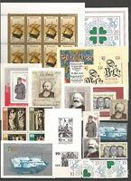 DDR 1983 postfrisch kompletter Jahrgang   ---ohne  Einzelmarken ohne schwarz Dr