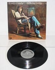 DAVID CASSIDY Rock Me Baby 1972 Spain LP Bell Records 23 08 050 vinyl