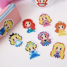 Princess DIY 5D Diamond Painting Sticker Kit Disney Kids Cartoon Craft Stickers