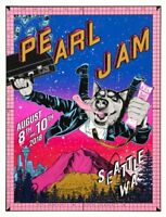 Faile Pearl Jam Seattle Poster Home Shows Safeco Variant x/100 PJ D.B. Vedder