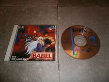 JEU NEC PC Engine TURBO DUO (SUPER CD-ROM2): BABEL - Complet TBE