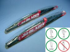 "PAIR Pilot Automotive WBP-22GM 22"" Universal Hot Rod Dual Wiper Blades Gun Metal"
