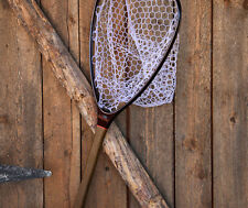 FISHPOND NOMAD MID-LENGTH TAILWATER LANDING NET LIGHT CARBON FIBER + RUBBER BAG