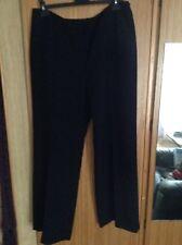 ladies black trousers size 18