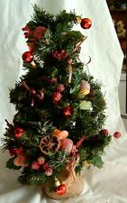 Christmas - Tree - Fruits and Sparkle - 15in Tall