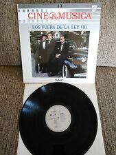 """LOS SANS DE LOI II BANDE ORIGINALE LP VINYLE VINYLE 12"""" 1987 VG VG + PHILIPS"""