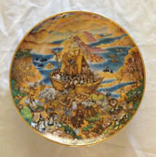 Two by Two - Franklin Mint - Noah's Ark Plate - by Bill Bell 1991
