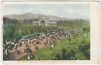 1900s San Francisco Golden Gate Park Sunday Afternoon Concert Vintage Postcard