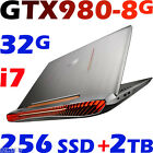 "ASUS ROG G752VY Quad i7-6820HK 32GB 256G-SSD + 2TB 17.3"" FHD GTX980-8G Gaming"