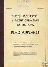 MARTIN MARINER FLYING BOAT ARCHIVE MANUAL REPORT  PBM Navy WW2  rare 1940's