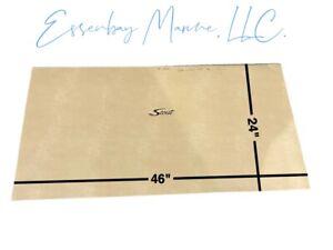 "Marine Grade Padded Vinyl Brisa Heritage with Black Scout Logo 46"" x 24"""