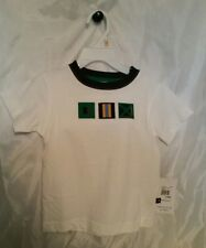 Boys t shirt 2 T White Nautical Flags New Kitestrings Toddler Children's Kids