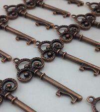 100 Small Vintage Skeleton Key Bottle Opener Wedding Favor Bridal Shower Decor