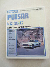 1982 - 1984 Gregorys Nissan Pulsar service manual