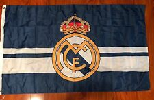 REAL MADRID C.F. La Liga Soccer 3'x5' Feet Soccer Team FLAG Banner Futbol Blue