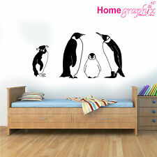 Penguin Wall Sticker set Nature Wall Quote Sticker Decal Mural Art bedroom