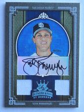 1/1 Sean Burroughs 2005 Diamond Kings Auto Game Used  San Diego Padres 1 of 1