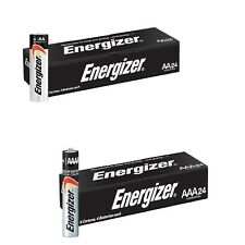 Energizer Alkaline AA & AAA Max Batteries(24+24-Pack) New