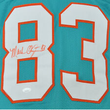 NFL Miami Dolphins Mark Clayton #83 Autographed Signed Jersey Aqua XL