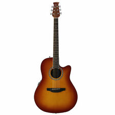 Ovation Applause Standard, Mid Depth, Acoustic Electric Guitar, Honey Burst