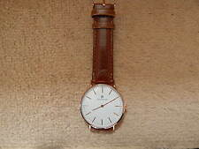 Jacob Ekland Water Resistant Rose Gold Wrist Watch BN No Box