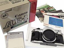 Canon AE-1 PROGRAM 35mm SLR Film Camera Body-Boxed
