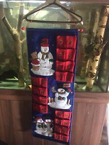 Hanging Children's Christmas Advent Calender