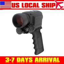 16GB IR Night Vision Monocular 200m Range Infrared Spotlight DVR 4.5X40+Grip Bar