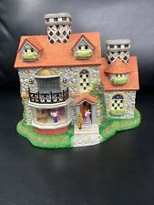 Partylite The Bristol House P7322 Olde World Village Candle Holder Retired Rare