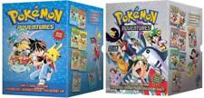 POKEMON ADVENTURES Books 1-14 in 2 Collector's Box Sets RED & BLUE GOLD & SILVER