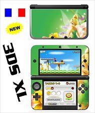 SKIN STICKER AUTOCOLLANT DECO POUR NINTENDO 3DS XL - 3DSXL REF 70 FEE CLOCHETTE