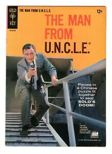 MAN FROM UNCLE 2 (VF) FORTUNE COOKIE AFFAIR, PHOTO BACK  (FREE SHIPPING)*