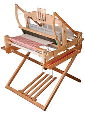 """New Ashford 24"""" 4 H Table loom and 4 treadle Stand"""