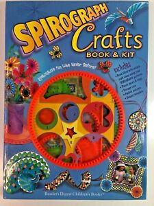 Spirograph Crafts Book Kit Classic Drawing Rings Art Design Gears Shapes STEM