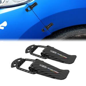 Mugen Carbon Fiber Quick Release Fasteners Car Bumpers Trunk Fender Hatch Lids