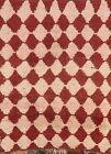 Antique Modern Shaggy Moroccan Berber Oriental Area Rug Plush Wool Handmade 4x5
