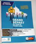 cyclisme - DOSSIER de PRESSE - Grand Départ Tour de France 2016
