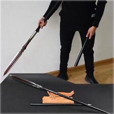 Valiant marziale Overlord Spear pike lance pattern steel Spearhead Sword #057