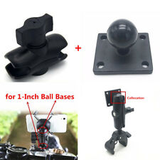 1 Inch Standard Ball Pump Mount Base+Double Socket Arm for Phone&Camera Support