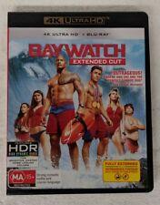 BAYWATCH - 4K ULTRA HD + Blu-ray Region B oz seller Dwayne Johnson Zac Efron DVD
