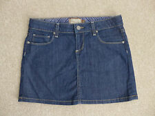 Paige Premium Denim Canyon Women's Denim Mini Skirt Size 26 Free Shipping! EUC