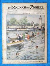 La Domenica del Corriere 7 agosto 1921 Costa,Bacigalupo - Beziers - Bersaglieri