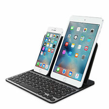 Belkin QODE Bluetooth Dual Device Keyboard for iPad Pro Air 2 Mini Galaxy Tab