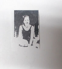 Bathing beauty rubber stamp lady stamps women woman female photo stampers art