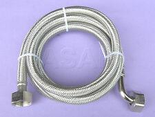 ACC039 Dishwasher & Washing Machine Stainless Steel braided inlet / fill hose 2m