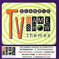 CLASSIC TV GAME SHOW THEMES CD! DATING GAME~CARD SHARKS! 19 TRACKS! NR-MINT!